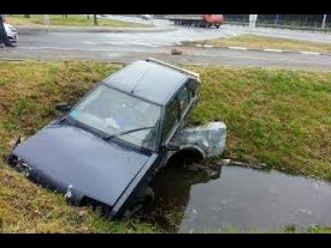 Когда автомобиль не вошел в поворот. Последствия.