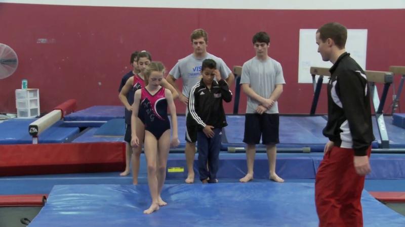 Gymnastics Tips from Paul Hamm - Vault Drill