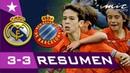 Real Madrid vs RCD Espanyol Resumen Goles MICFootball 2019
