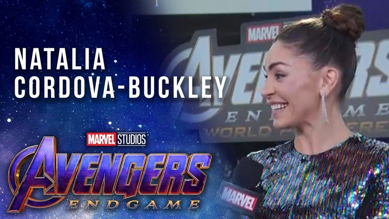 Agents of S.H.I.E.L.D. Natalia Cordova-Buckley LIVE from the Avengers Endgame Premiere