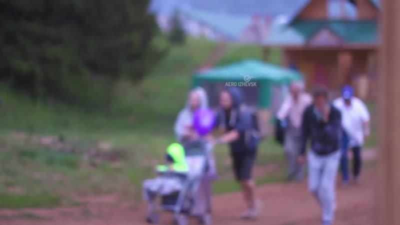 Этно-сцена Панамский канал на фестивале Бабушкина дача - 2016
