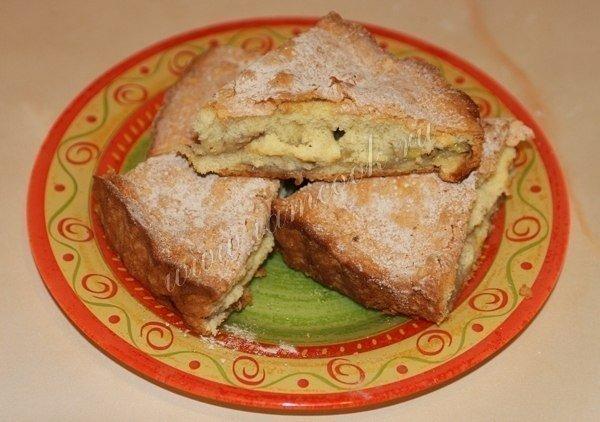 Шарлотка с бананами. Обалденно вкусный десерт!