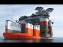 The world's largest heavy lift ship - Dockwise Vanguard
