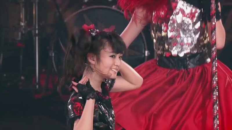 BABYMETAL HEADBANGER LIVE AT BUDOKAN BLACK NIGHT 2014 Full HD