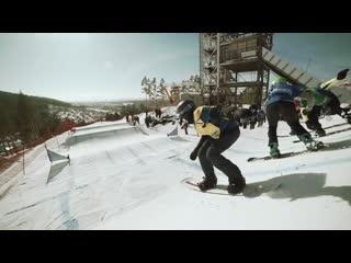 25.02.2019 - Первенство России по сноуборду в ГЛЦ