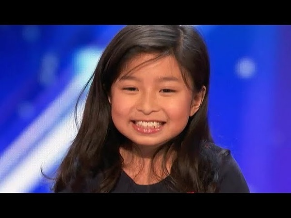 9 Y.O. Little Girl STUNS EVERYONE With AMAZING My Heart Will Go On