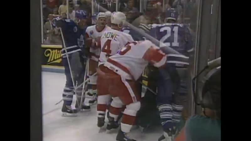 История 36. НХЛ. 27 Апреля 1993. Детройт Ред Уингз-Торонто Мэйпл Лифс. Матч 5