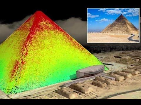 Архивы Атлантиды в базальтовом ящике нашли под правой лапой Сфинкса,а под пирамидой подземный город