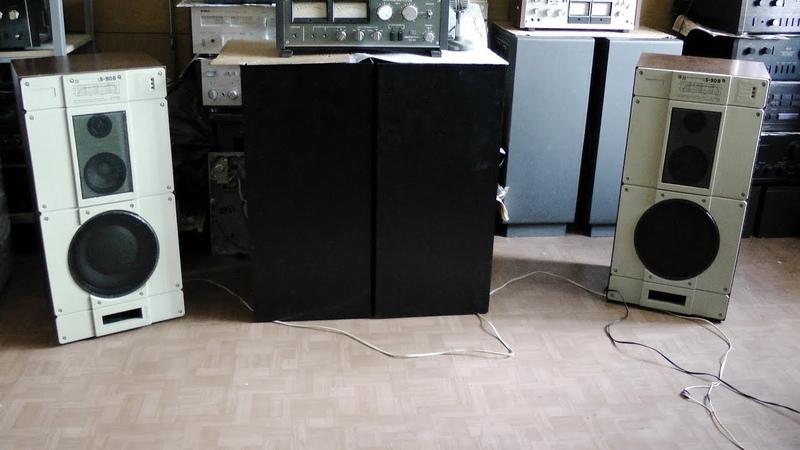 Усилок главное прогреть Technics v10 и S 90B Амфитон
