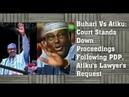 Buhari Vs Atiku: Court Stand Down; Court Voids Ganduje's Emirs; Emefiele Reappointment; Bet9ja