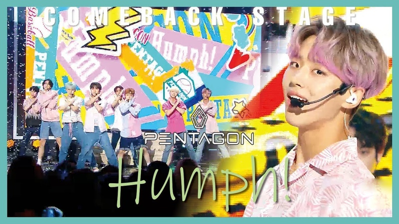 Comeback Stage PENTAGON Humph 펜타곤 접근금지 Show Music core 20190720