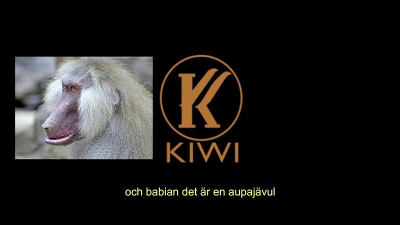 Det får du inte säga - Kiwi