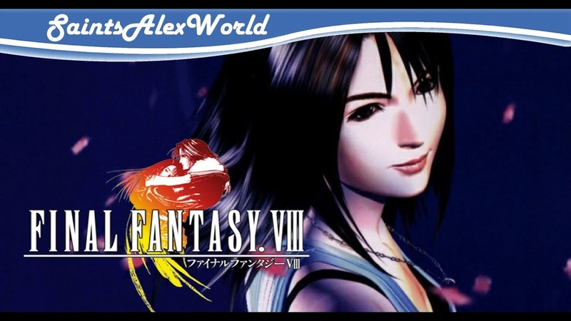 1| Final Fantasy VIII PSX - Знакомство с игрой.