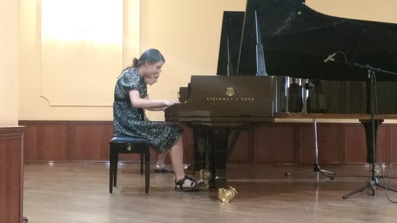 М.Плетнев-С.Прокофьев,сюита Золушкадля двух фортепиано.1.Интродукция.2.Ссора.3.Зима.