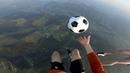 Футбольный Freestyle на воздушном шаре