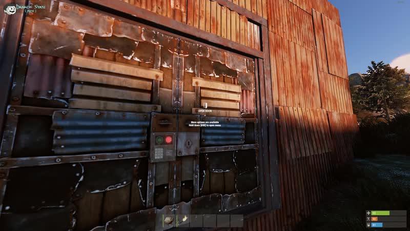 [Drakess] Обычным камнем зарейдил огромный железный дом и нашёл тайники с неизвестным... - Rust