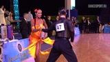Mikhail Koptev - Alexandra Atamantseva RUS, Samba, Grand Prix Dynamo 2019