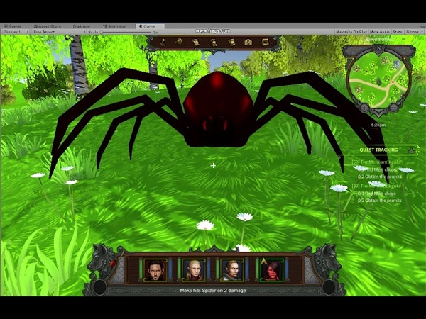 Битва с пауком
