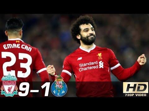 🔥 Ливерпуль - Порту 9-1 - Обзор Матча Лиги Чемпионов 06032018 HD 🔥