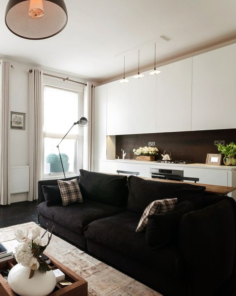 Квартира с ретро нотками