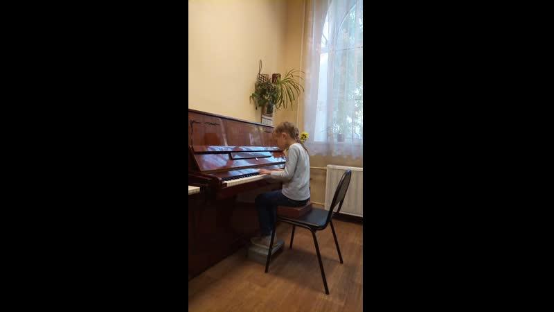 П И Чайковский Старинная франзузская песенка из Детского альбома исп Желткевич Дарья