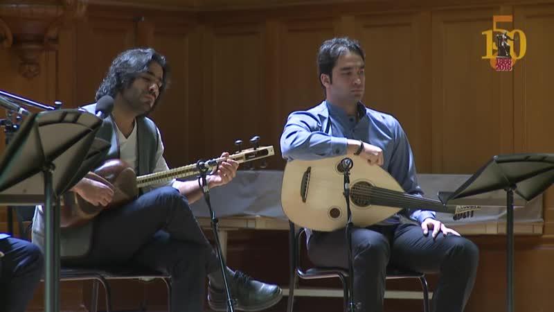 Прорастание Royesh концерт иранской классической музыки основанной на авестийских текстах