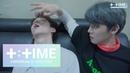 [T:TIME] YEONJUN plays with sleeping members - TXT (투모로우바이투게더)