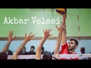 Ngeri Spike Bawah Net Akbar Velaei.. Lihat Pantulan Bolanya Selalu Mengenai Atap !!