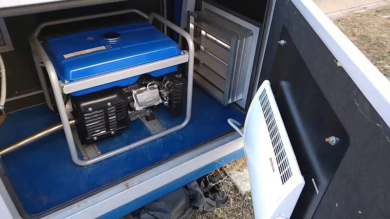 Контейнер для мини-генератора. Полный обзор