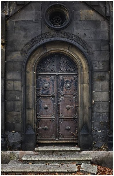 Doors in Prague, Czech Republic