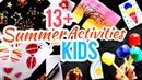 Summer Activities for Kids   Fun Painting Ideas for Kids   Summer Camp Activities at Home