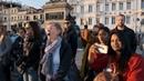 Ах ты степь широкая на площади в Венеции прощание