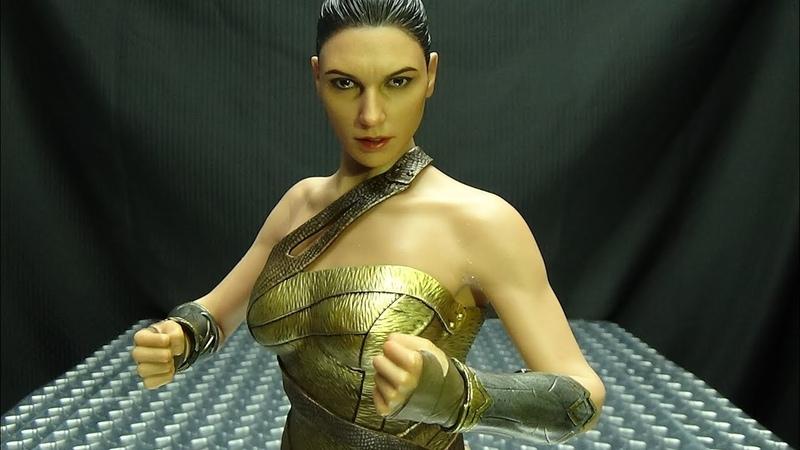 Hot Toys WONDER WOMAN Training Armor Version EmGos Reviews N Stuff