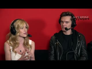 Christchurch armageddon 2019 - katherine mcnamara and luke baines interview