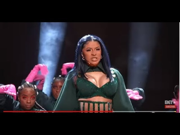 """Cardi B Offset In FIRE """"Clout"""" """"Press"""" Performance At The BET Awards! FEET WORSHIP 2019"""