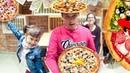 ПИЦЦА ЧЕЛЛЕНДЖ ! НА МАСТЕР КЛАССЕ В PIZZA PROSTO ! Настоящая пицца !
