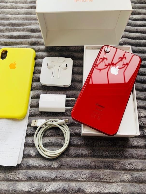 Аррle iPhоne XR 64GВ RED Оригинальный  Moдeль | Объявления Орска и Новотроицка №6937