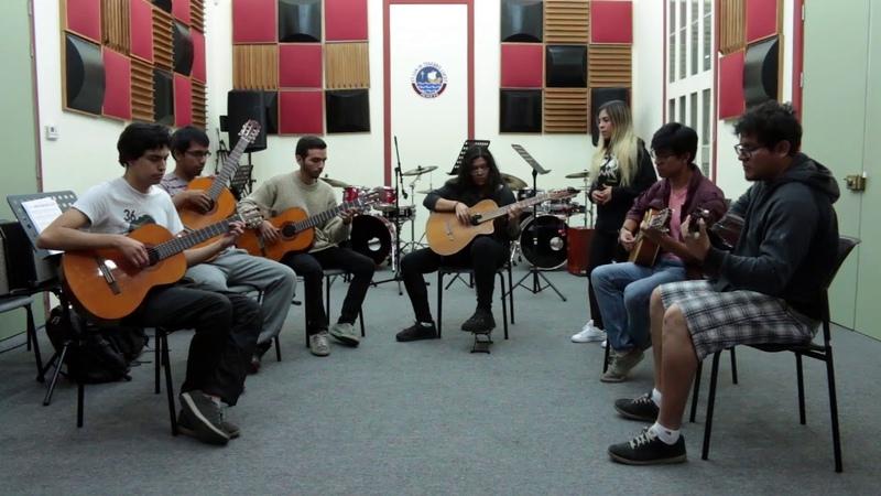 Serenata puneña - Ensamble de guitarras andinas de la pucp