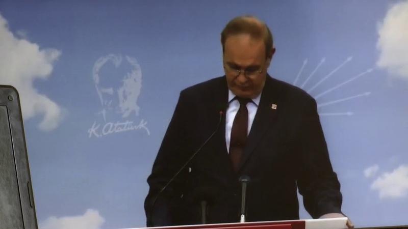 CHP Başkan Yardımcısı Faik Öztrak, ekonomi açıklaması yaptı.