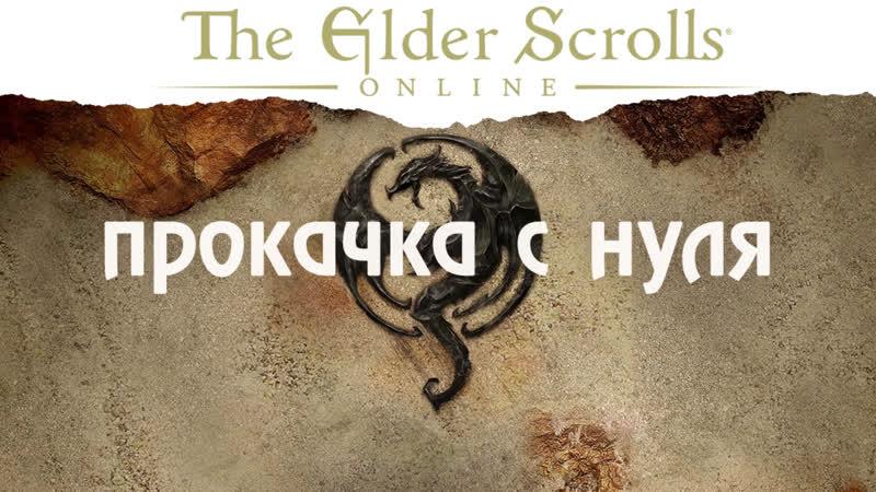 The Elder Scrolls Online: Ить качается с нуля!