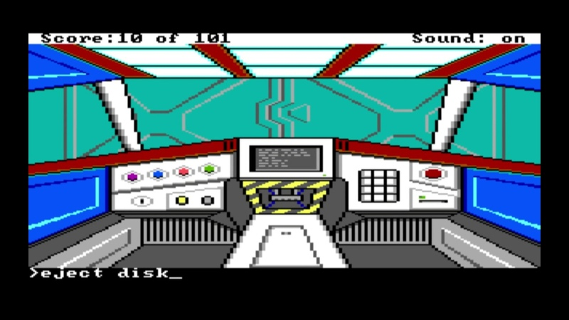 Space Quest Chapter 0 Replicated for the TRS-80 CoCo