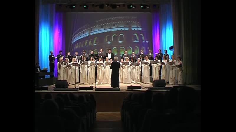 Концерт народной хоровой капеллы учителей п у Анны Печёнкиной