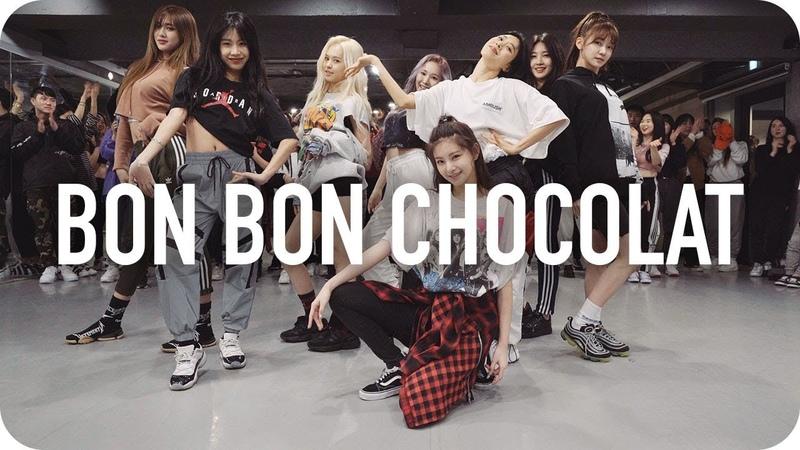 Bon Bon Chocolat - EVERGLOW Lia Kim X Minyoung Park Choreography with EVERGLOW