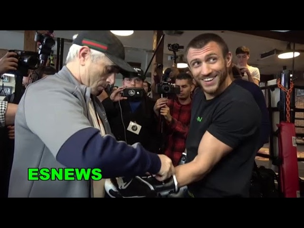 LOMACHENKO A FULL DAY AT THE GYM WITH P4P KING VASYL EsNews Boxing