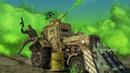 GLA Toxin Tractor model showcase