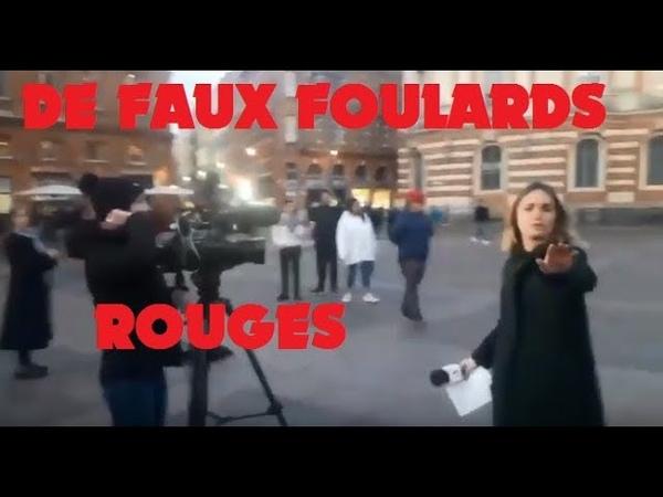 GJ REGARDEZ - FR 3 Surpris - Montage d'un FAKE Foulards Rouges