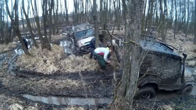 Off-road - 109 Наперегонки по болотах (УАЗ-469, Asia Rocsta)