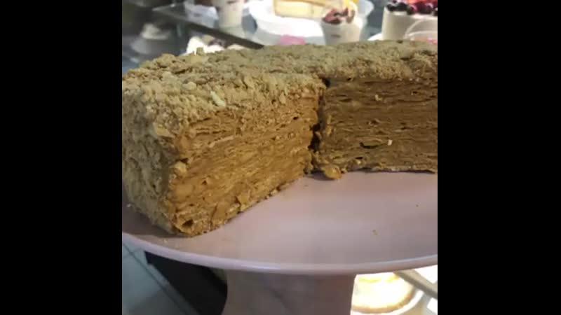 Торт Наполеон божественно вкусный!