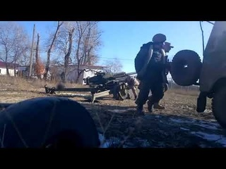 Ополченцы дали ответку на огонь ВСУ (в конце видео)