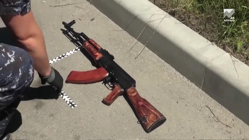 В Черкесске задержали мужчину, стрелявшего на свадьбе